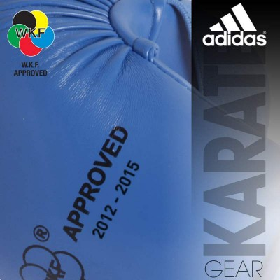 f6f83b0389a Karate Gloves Adidas Thump Protection Official WKF Approved 2012-2015